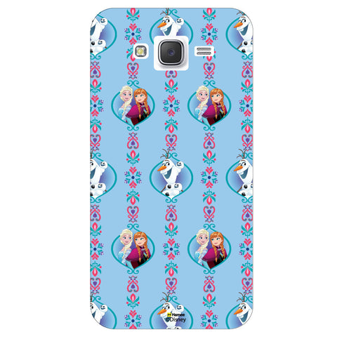 Disney Princess Frozen ( Frozen Pattern )  Samsung Galaxy J5