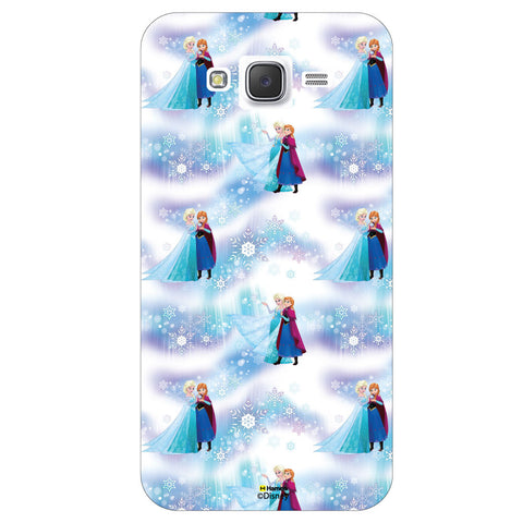 Disney Princess Frozen ( Anna Elsa Pattern 2 )  Samsung Galaxy J7