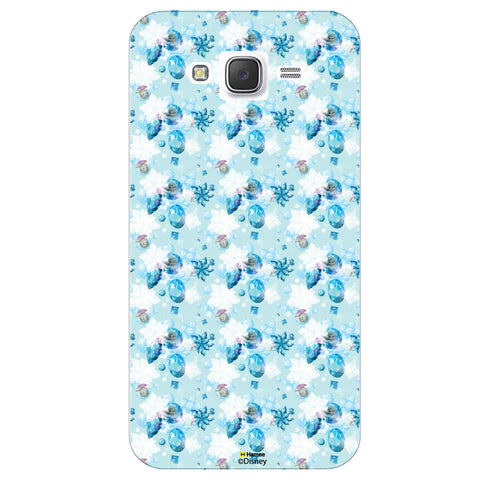 Disney Princess Frozen ( Anna Elsa Pattern 3 )  Samsung Galaxy J5