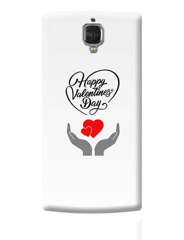 Happy valentine's day OnePlus 3 Covers Cases Online India