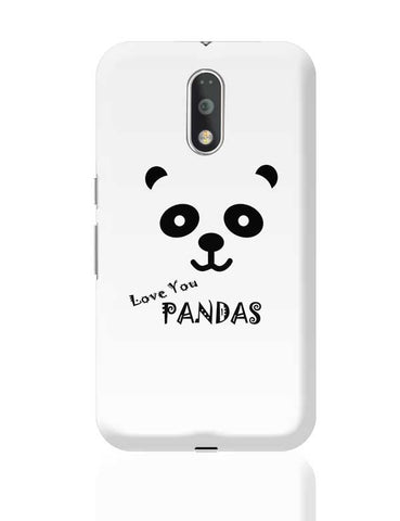 I LOVE PANDAS Moto G4 Plus Online India