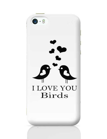 I LOVE YOU Birds iPhone 5/5S Covers Cases Online India