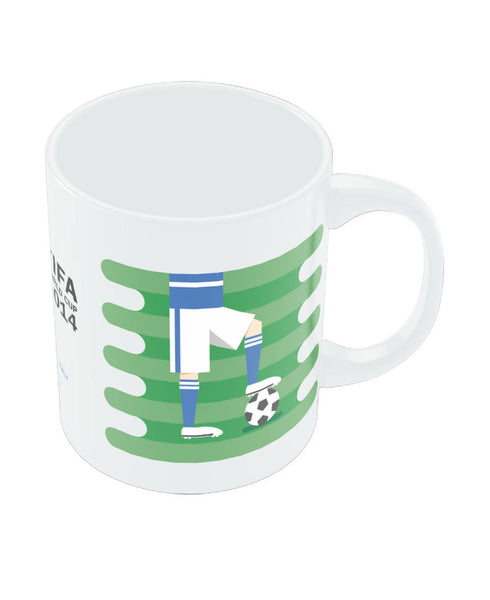 FIFA Worldcup 2014 Italy Field Football Mug