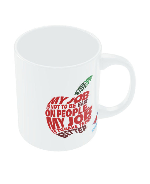 NASSCOM Steve Jobs Apple Quote Mug