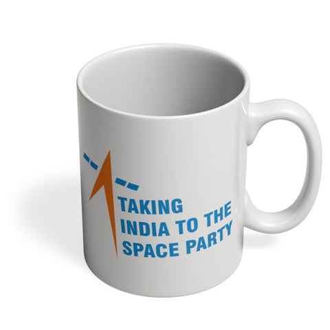 taking india to the space party Coffee Mug Online India