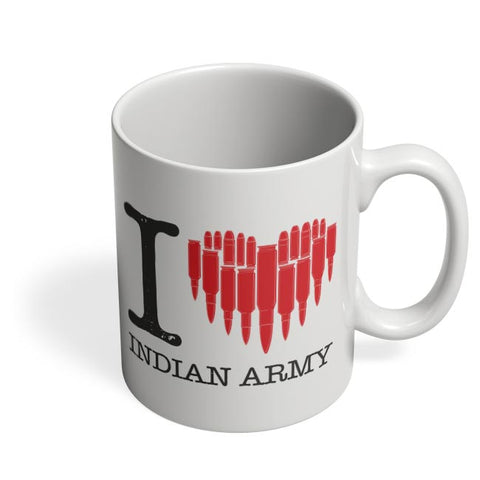 i love indian army Coffee Mug Online India