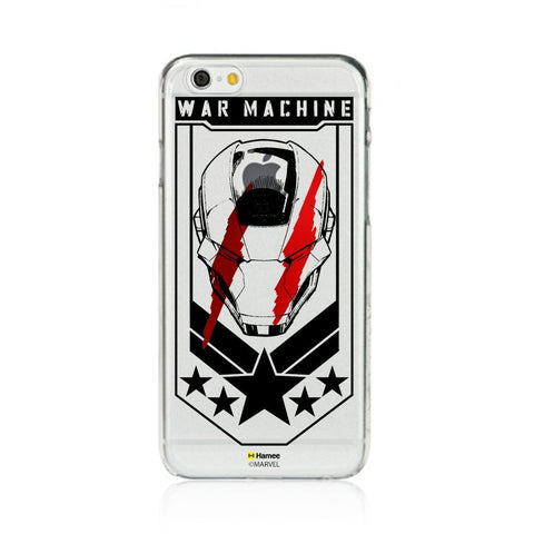 War Machine  Clear Apple iPhone 6S/6 Case Cover