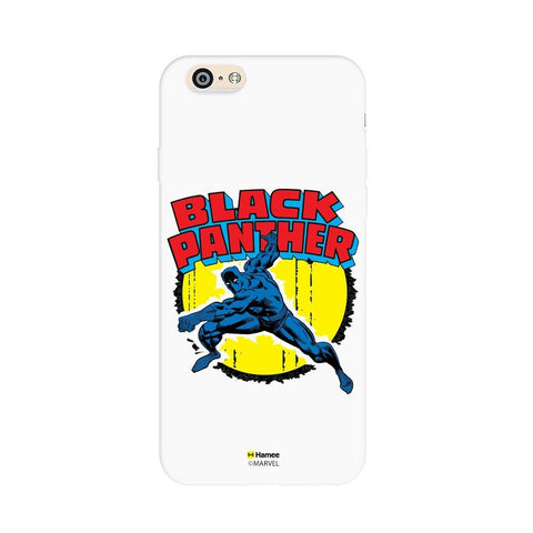 Black Panther  White Apple iPhone 6S/6 Case Cover