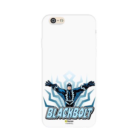 Black Bolt  White Apple iPhone 6S/6 Case Cover
