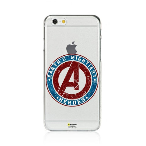 Avengers Stamp  Clear Apple iPhone 6S/6 Case Cover