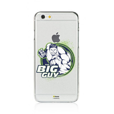 The Big Guy  Clear Apple iPhone 6S/6 Case Cover