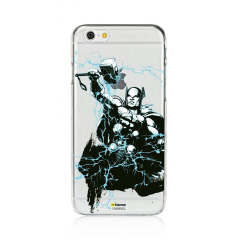Illustrated Thor  Clear Apple iPhone 6S/6 Case Cover