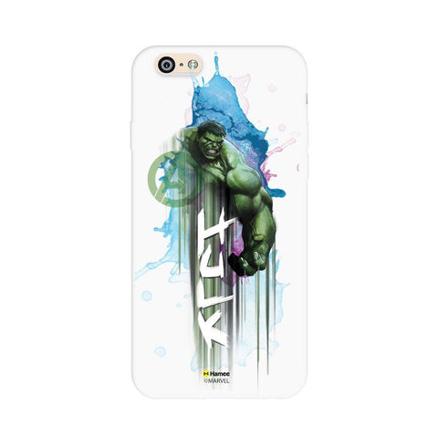 Watercolour Hulk  White Apple iPhone 6S/6 Case Cover
