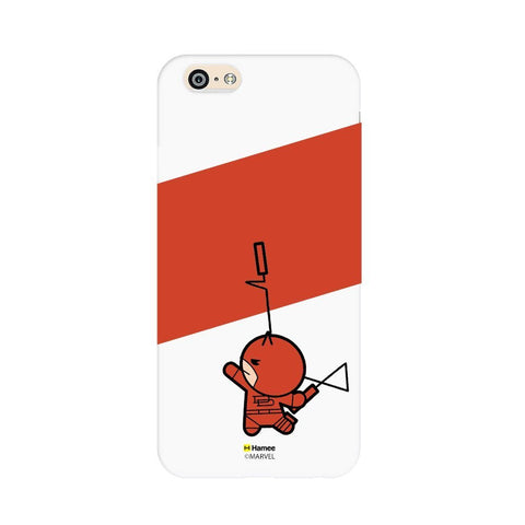 Cute Dare Devil  White Apple iPhone 6S/6 Case Cover