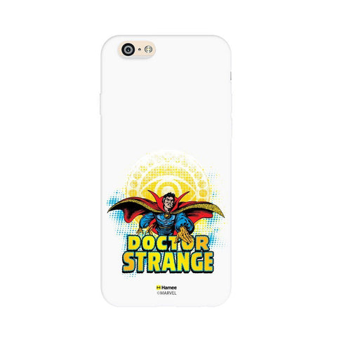 Dr Strange Badge  White Apple iPhone 6S/6 Case Cover