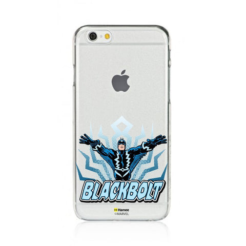 Black Bolt  Clear Apple iPhone 6S/6 Case Cover