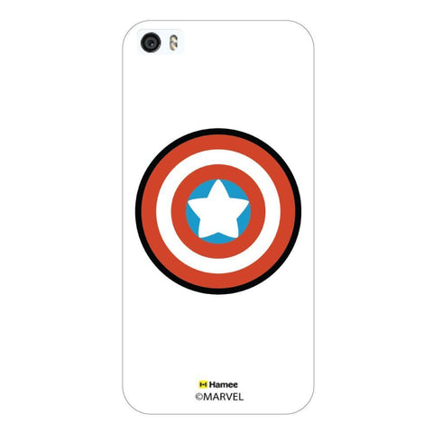 White  Cute Captain America Shield Apple iPhone 6S Plus/6 Plus Case Cover