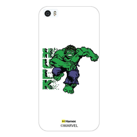 Hulk Pixels White iPhone 5S/5 Case Cover