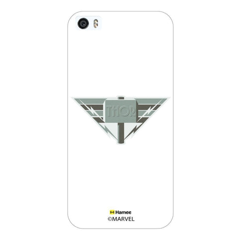 Thor Hammer Deco White iPhone 5S/5 Case Cover