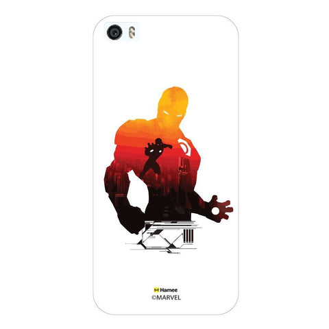 Iron Man Red Shadow White iPhone 5S/5 Case Cover