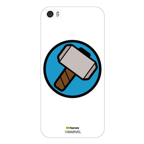 White  Thor Cute Hammer Apple iPhone 5S/5 Case Cover