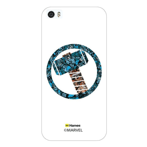White  Thor Doodle Apple iPhone 5S/5 Case Cover