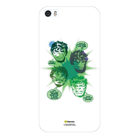 Hulk Talking White iPhone 5S/5 Case Cover