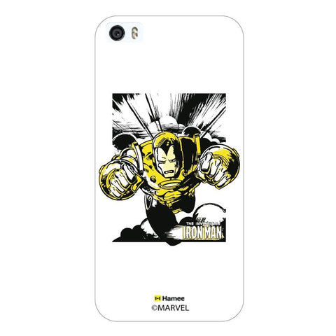 White  Ironman Yellow Wash Apple iPhone 6S Plus/6 Plus Case Cover