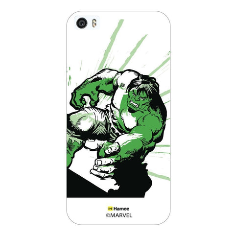 Angry Hulk White iPhone 5S/5 Case Cover
