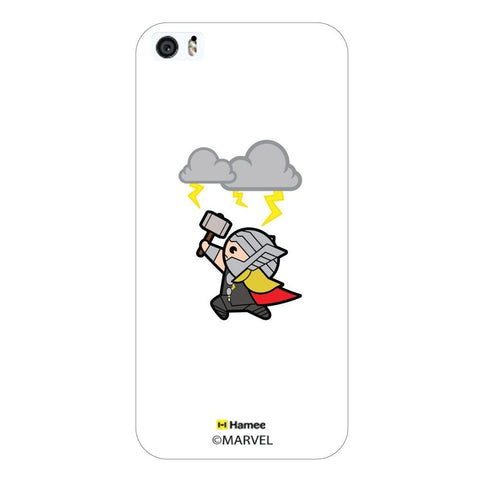 White  Cute Thor Thunder Apple iPhone 5S/5 Case Cover