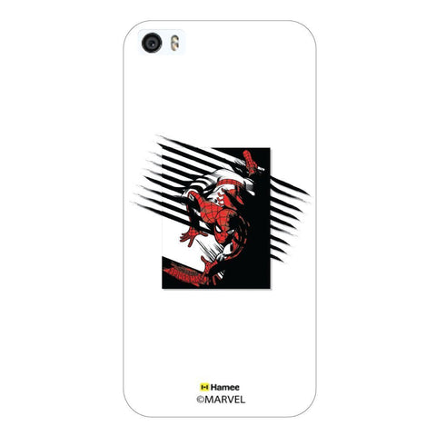 White  Spiderman Sketch Apple iPhone 5S/5 Case Cover