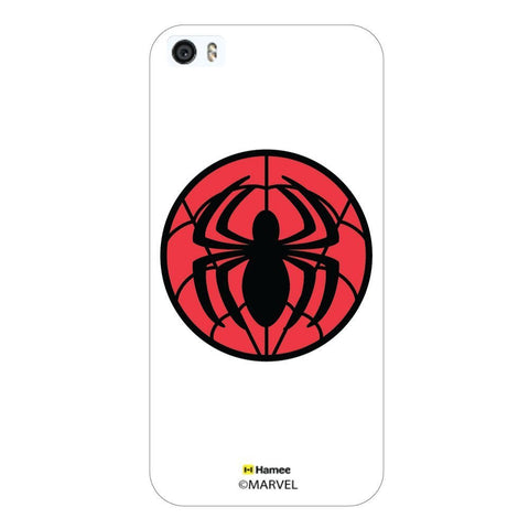 White  Spiderman Logo Apple iPhone 5S/5 Case Cover
