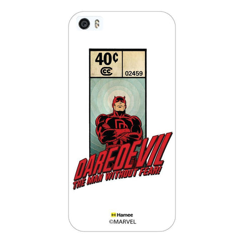 Dare Devil Stamp White iPhone 5S/5 Case Cover