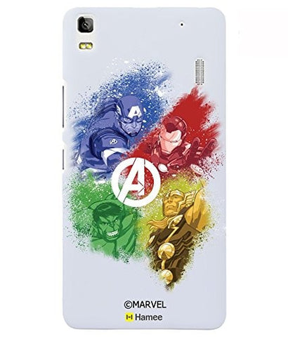 Avengers Coloured With Logo Lenovo K3 Note Case Cover