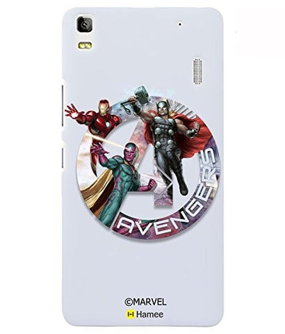 Avengers In Logo Lenovo K3 Note Case Cover