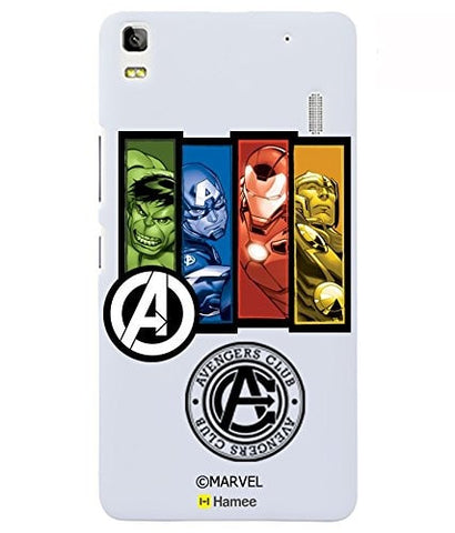 Avengers Coloured With Logo 2 Lenovo K3 Note Case Cover