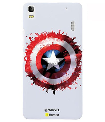 Captain America Watercolour Logo Lenovo K3 Note Case Cover