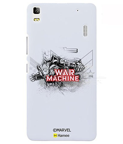 War Machine Avengers Sketch Lenovo K3 Note Case Cover