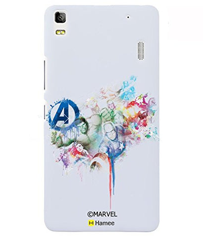 Watercolour Avengers Lenovo K3 Note Case Cover