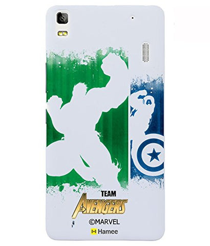Inverted Hulk Captain America Lenovo K3 Note Case Cover