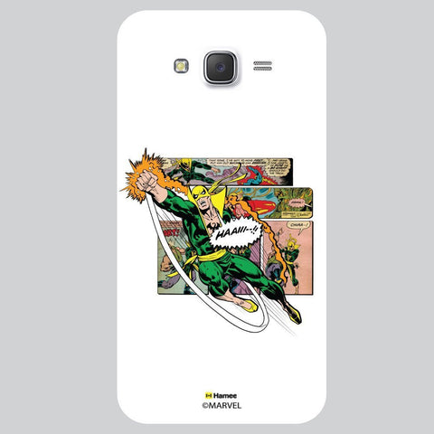 Marvel Comic Illustration Seen White Samsung Galaxy On7 Case Cover