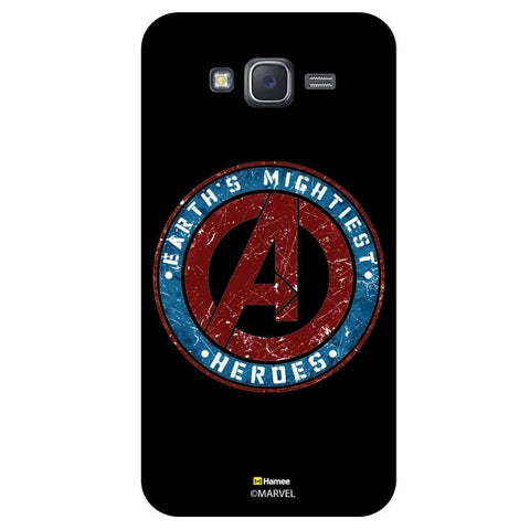 Avenger Logo Blackblack  Samsung Galaxy J7 Case Cover