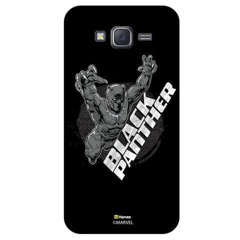 3D Black Panther Black  Samsung Galaxy On7 Case Cover