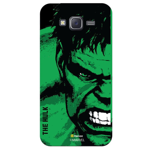 Hulk Full Face Black  Samsung Galaxy J7 Case Cover