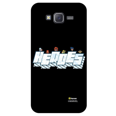 Cute Superheroes Black  Samsung Galaxy On7 Case Cover