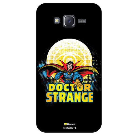 Doctor Strange Illustration Black  Samsung Galaxy J7 Case Cover