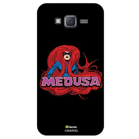 Marvel Medusa Illustration Black  Samsung Galaxy J7 Case Cover