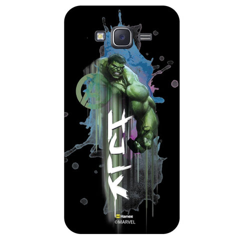 Hulk Muscles 3D Black  Samsung Galaxy On7 Case Cover