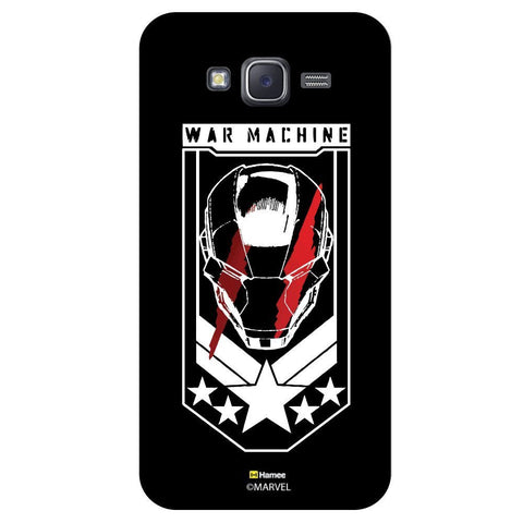 Iron Man War Machine Black  Samsung Galaxy On7 Case Cover