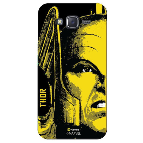 Thor Full Face Black  Samsung Galaxy J7 Case Cover